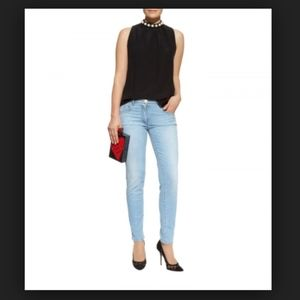 Boutique moschino light wash jeans